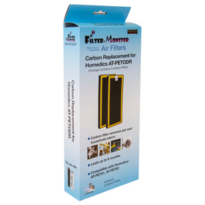 Filter-Monster Carbon Replacement for HoMedics AT-PETODR TotalClean PetPlus Filter