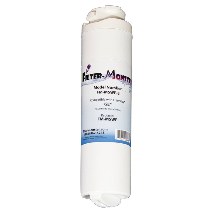 Filter-Monster Replacement for GE MSWF Refrigerator Water Filter