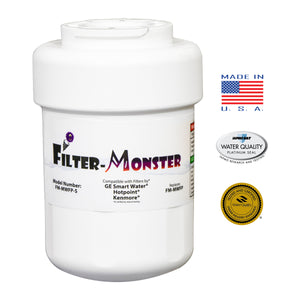 Filter-Monster Replacement for GE Smartwater MWF, MWFP Refrigerator Water Filter