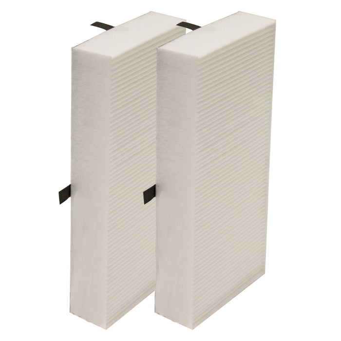 Filter-Monster True HEPA Replacement for Honeywell Filter U (HRF201B), 2 Pack
