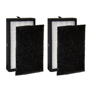 Filter-Monster True HEPA Replacement for GermGuardian FLT4100 Filter E, 2 Pack