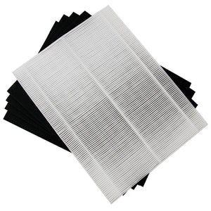 Filter-Monster True HEPA Replacement for Winix A Filter + 4 Carbon Pre-Filters