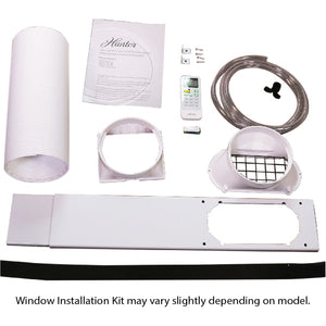 Hunter 10,000 BTU Portable Air Conditioner HPAC-10C150 Window Install Kit