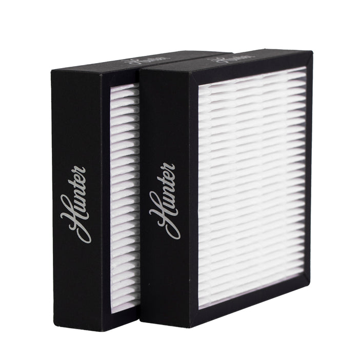 Hunter True HEPA F1715HE5 Replacement Filter, 2 Pack