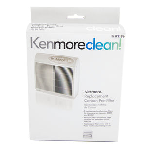 Kenmore Carbon 83156 Replacement Pre-Filter, 2 Pack