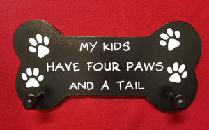 My kids have four paws and a tail