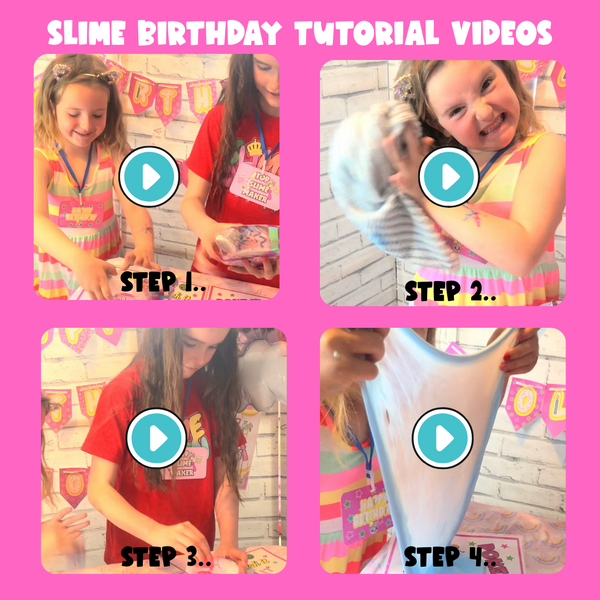 Slime Party At Home Box! 🎉