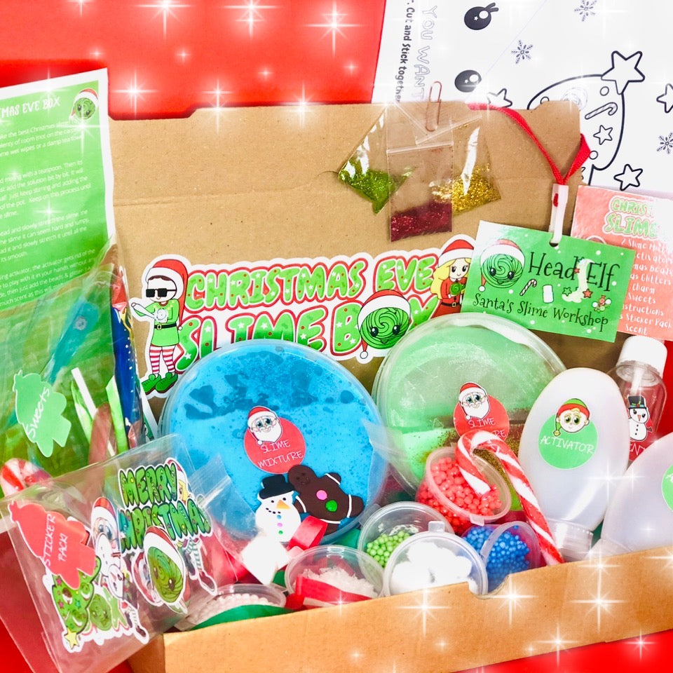 🎄Christmas Eve Slime Box🎄