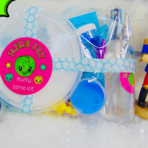 Fluffy Slime Kit & Surprise Charm 💙