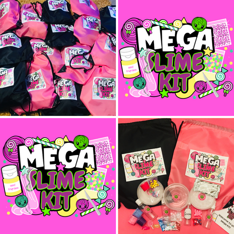 🔥Mega Slime Kit & Bag🔥