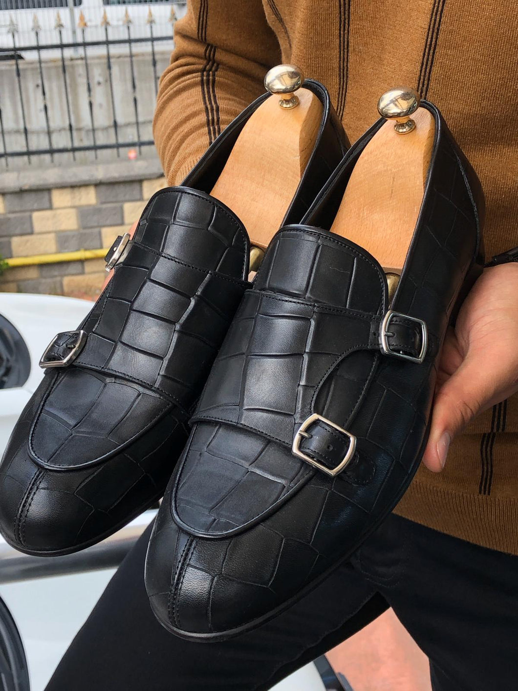 Jones Special Edition Double Monk Strap Sardinelli Loafers