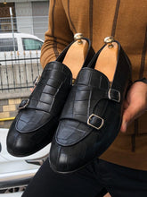 Load image into Gallery viewer, Jones Special Edition Double Monk Strap Sardinelli Loafers