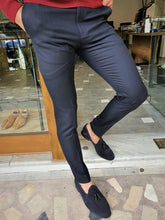 Load image into Gallery viewer, Harrison Slim Fit Special Edition Navy Pants