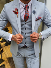 Load image into Gallery viewer, Royal Slim Fit Blue Suit