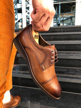 Load image into Gallery viewer, Heritage Laced Walnut Leather Shoes