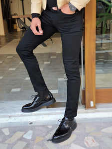Mason Slim Fit Special edition Lycra Black Jeans