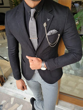 Load image into Gallery viewer, Mason Slim Fit Special Edition Black Blazer