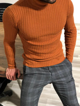Load image into Gallery viewer, Tile Slim Fit TutleNeck Sweater