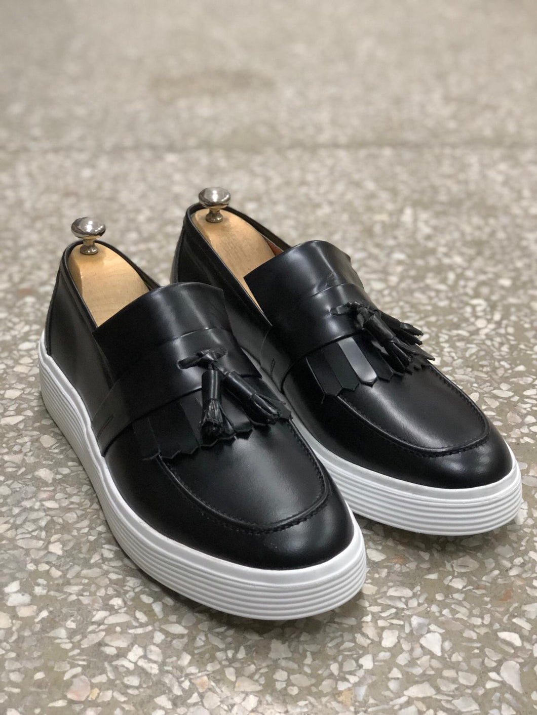 Ferrar Eva Base Black Loafers