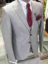 Load image into Gallery viewer, Bernard All Gray Slim Suit