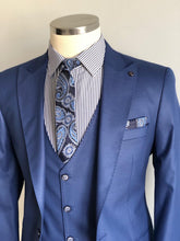 Load image into Gallery viewer, Edmond Sax Slim Fit Suit