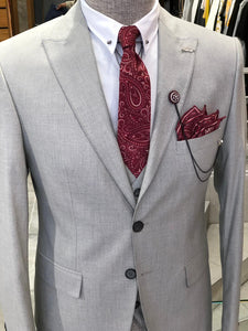 Bernard All Gray Slim Suit