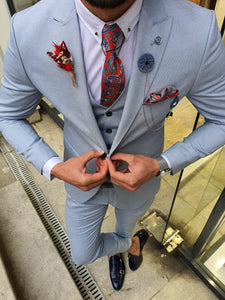 Royal Slim Fit Blue Suit
