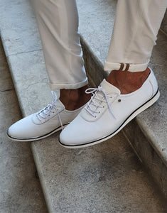 Verno Sardinelly Lace-up White Sneakers