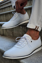 Load image into Gallery viewer, Verno Sardinelly Lace-up White Sneakers
