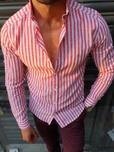 Load image into Gallery viewer, Verno Slim Fit Striped Shirts (In 3 Colors)