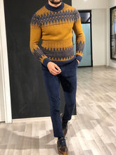 Load image into Gallery viewer, Luxe Tobacco Woolen Knitwear