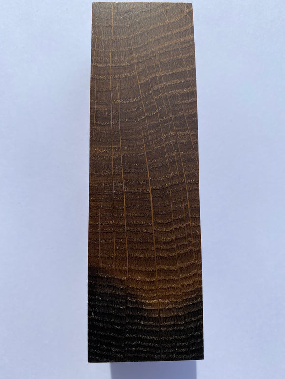 Bog Oak 109 to 98 x 33 x 34 mm