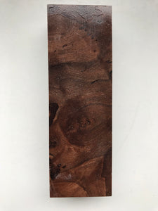Walnut 126 x 41 x 26 mm
