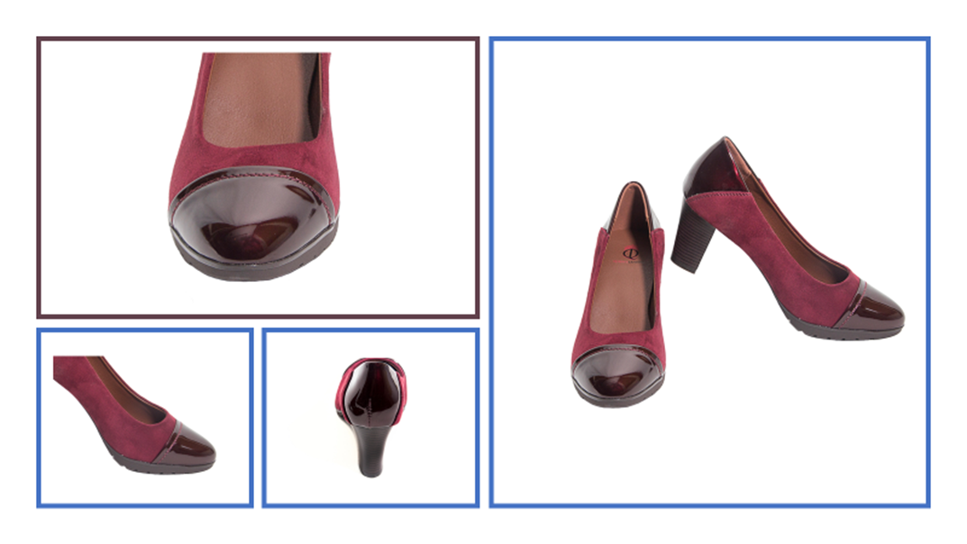 Charlotte shoes, #QLshoes, #softshoes, #comfortheels, #winecolorshoes