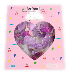 Princess Hair clips assortment gift box (1T-6T)