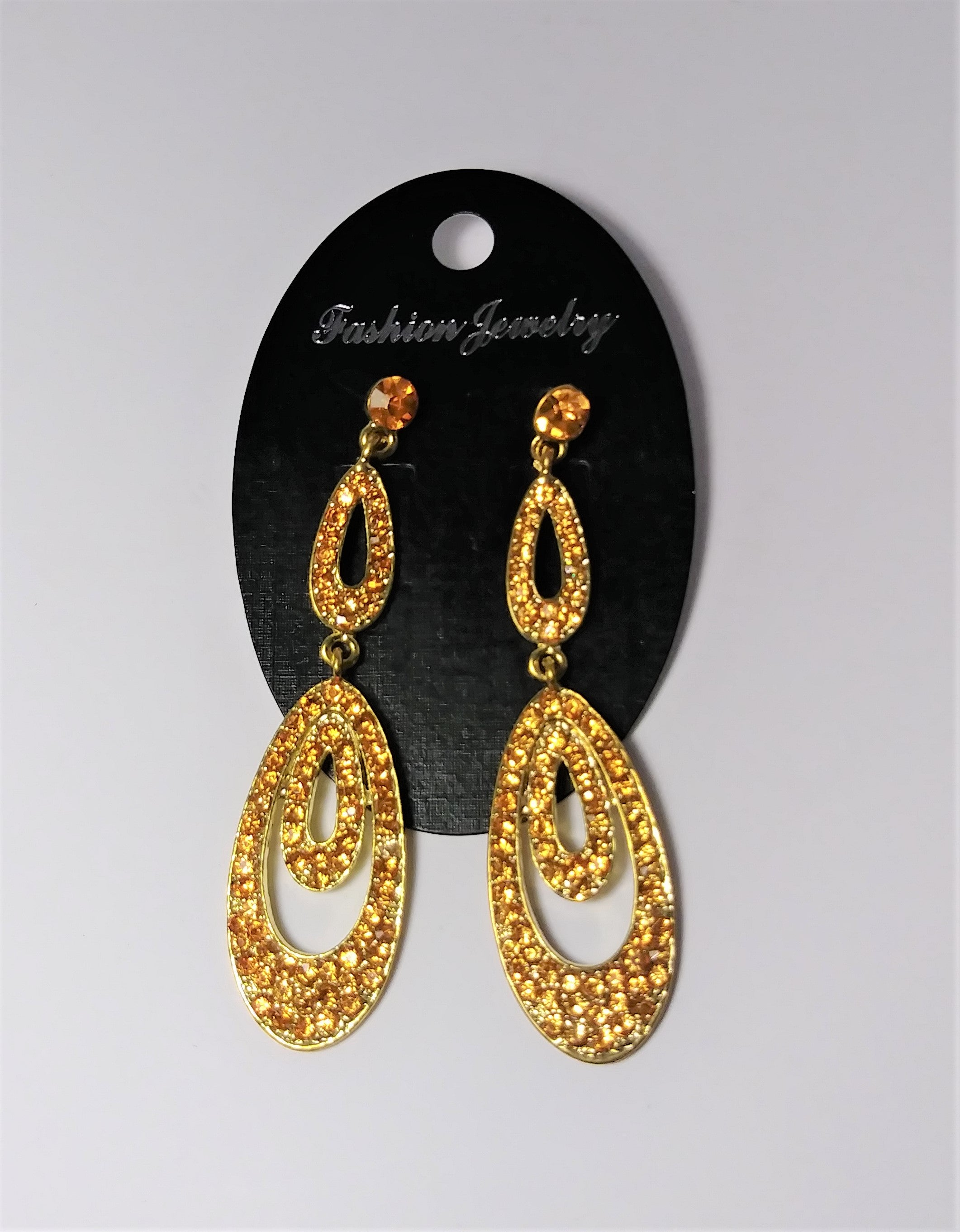 Fashion jewelry- yellow hoopla