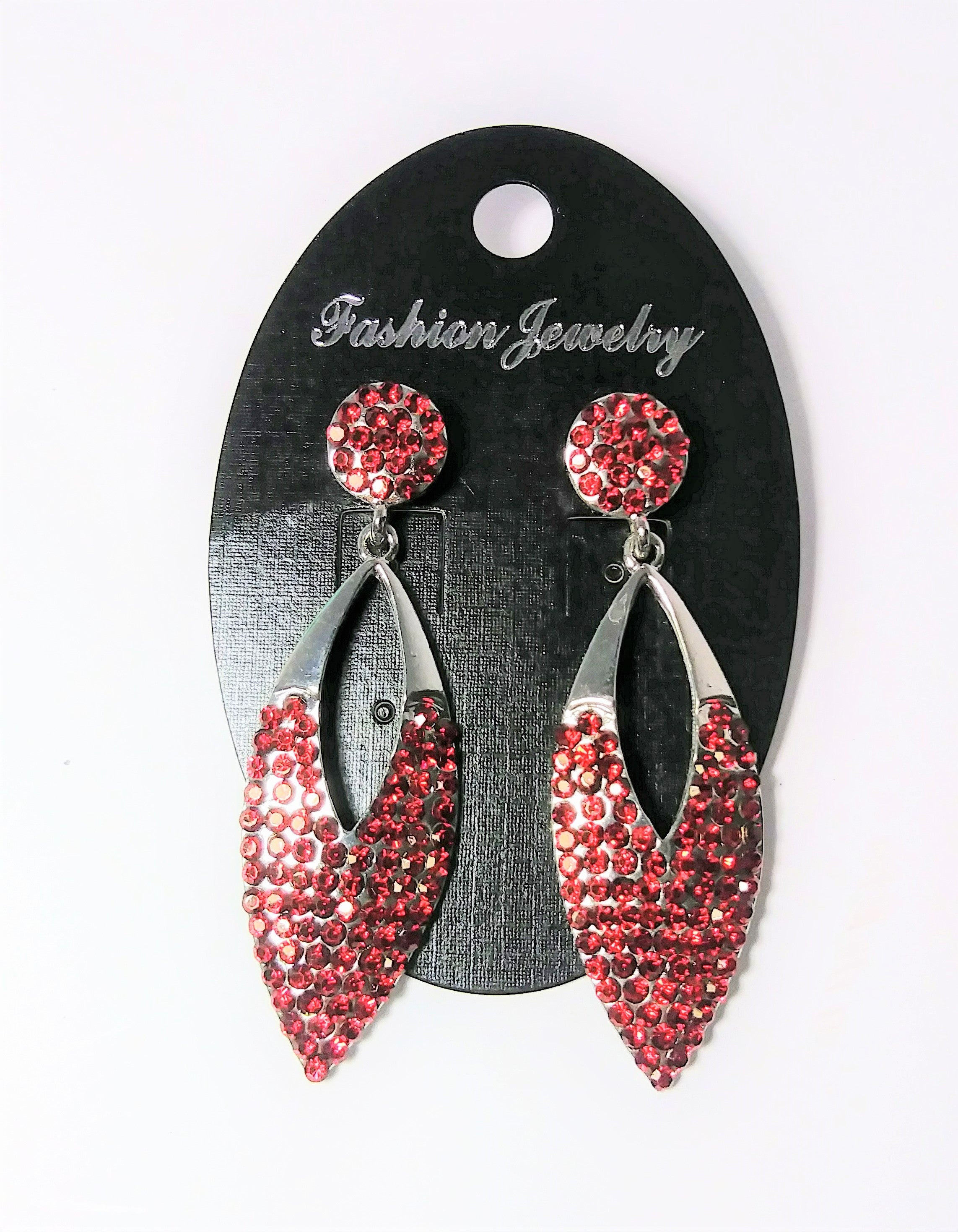 Fashion Jewelry-red cut out