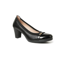 Helen- Elegant and breathable leather insole medium heels