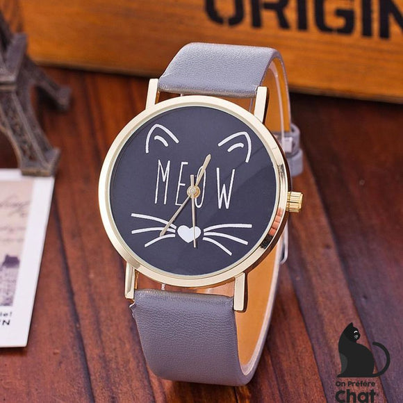 Montre Miaouw Cat - Montre