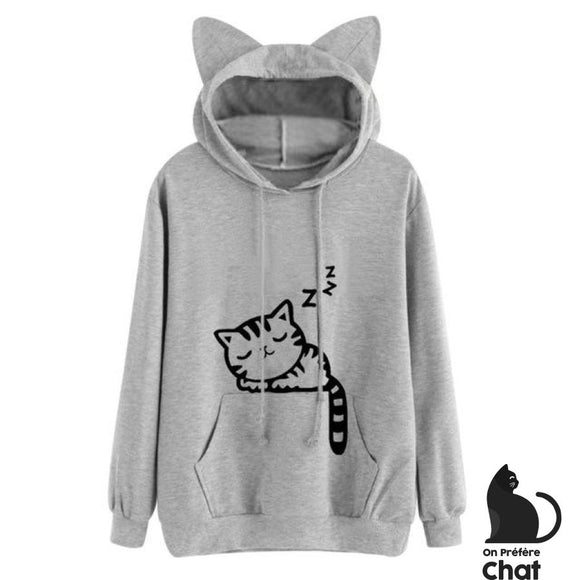 Sweat Chadorable - Gris / S - Sweat