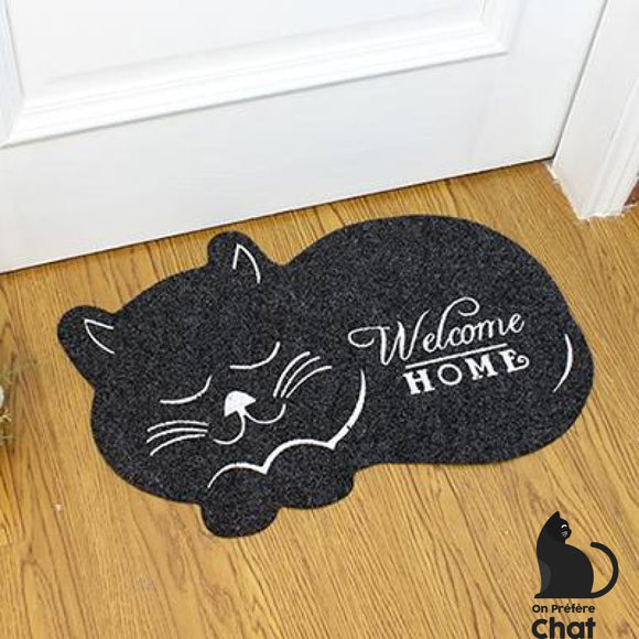 Tapis Welcome Home - Noir - Tapis