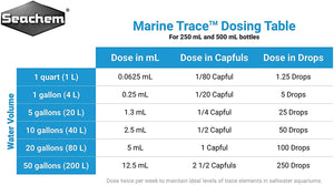 Seachem Marine Trace - 500ml AVAILABLE TO ORDER!