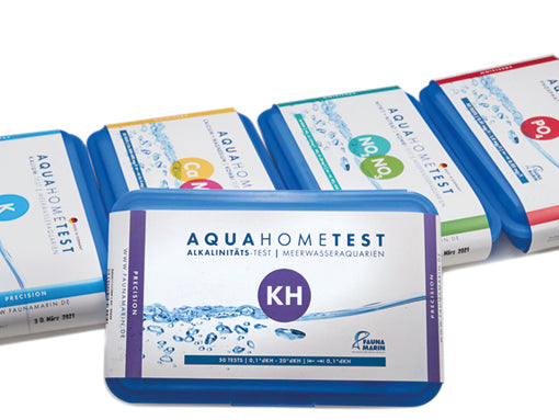 New! Aquahometest KH Kits Control it now!