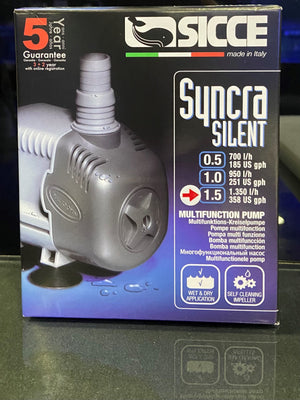 NEW, SICCE SYNCRA SILENT 1.5