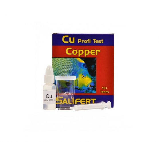 SALIFERT COPPER TEST KIT 50T