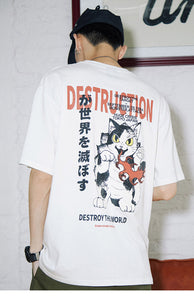 T-shirt Destruction