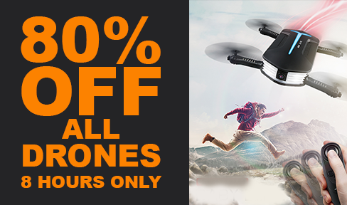 80% OFF all Drones from Your Broski
