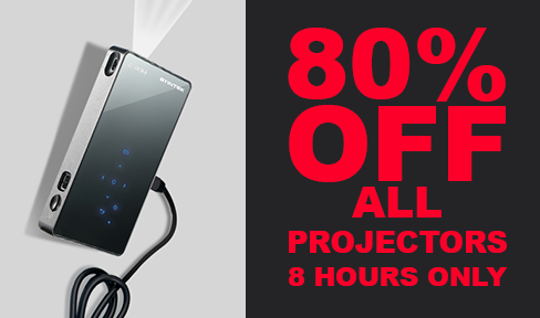 80% OFF all Projectors from Your Broski