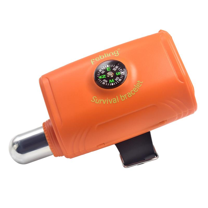 Portable Life-Saving Bracelet with Co2 Cylinder