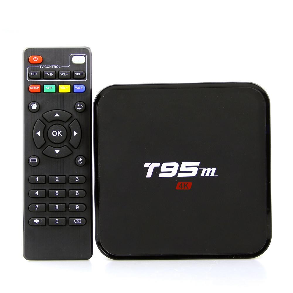 Smart TV 4K Ultra Home Theater Box T95m
